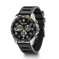 366226361-174 - Sport Chrono Black Dial Ruber Strap Watch - thumbnail