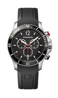 575599378-174 - Seaforce Black Dial Black Strap Chronograph Watch - thumbnail