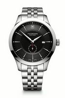 585599744-174 - Alliance Large Stainless Steel Watch (Black) - thumbnail