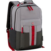"715314329-174 - Wenger® Ero Pro 16"" Laptop Backpack (Gray) - thumbnail"