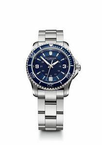 774298916-174 - Maverick Small Blue Dial/Stainless Steel Bracelet Watch - thumbnail