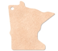 "795802355-174 - 14""x12"" Epicurean Minnesota Shaped Cutting Board - thumbnail"