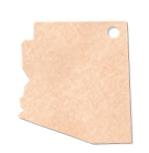 "905802328-174 - 11.5""x9.5"" Epicurean Arizona Shaped Cutting Board - thumbnail"