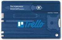 911799932-174 - Swisscard® Quattro Multi-Tool Translucent (Sapphire Blue) - thumbnail