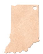 "935802338-174 - 14.5""x9.5"" Epicurean Indiana Shaped Cutting Board - thumbnail"