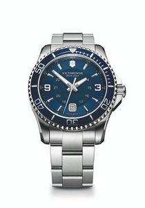 974298914-174 - Maverick Large Blue Dial/Stainless Steel Bracelet Watch - thumbnail