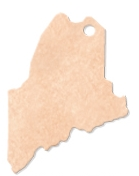 "995802353-174 - 14.75""x10.25"" Epicurean Maine Shaped Cutting Board - thumbnail"