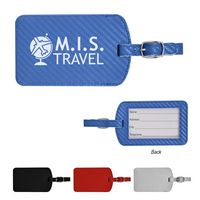 106071011-816 - Carbon Fiber Pattern Luggage Tag - thumbnail