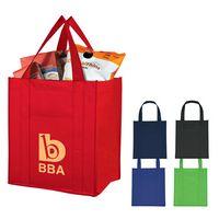 113415708-816 - Matte Laminated Non-Woven Shopper Tote Bag - thumbnail