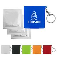 116360666-816 - Antiseptic Wipes In Carrying Case Keychain - thumbnail