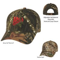 123999186-816 - Realtree® And Mossy Oak® Hunter's Retreat Camouflage Cap - thumbnail