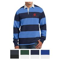 135405846-816 - Sport-Tek® Classic Long Sleeve Rugby Polo - thumbnail