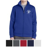 155415281-816 - Sport-Tek® Youth Sport-Wick® Fleece Full-Zip Jacket - thumbnail