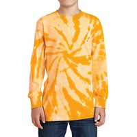 165339729-816 - Port & Company® Youth Tie-Dye Long Sleeve Tee - thumbnail