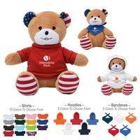 "166082629-816 - 6"" Patriotic Bear - thumbnail"