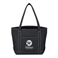 304002201-816 - Medium Cotton Canvas Yacht Tote Bag - thumbnail