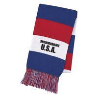 305760452-816 - Patriotic Knit Scarf - thumbnail