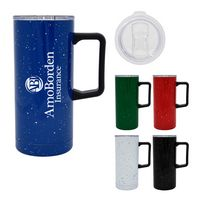 306106457-816 - 17 Oz. Speckled Stainless Steel Travel Tumbler - thumbnail