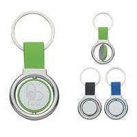 314010790-816 - Circular Metal Spinner Key Tag - thumbnail