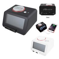 315382648-816 - Homtime 3-In-1 Alarm Clock With Speaker - thumbnail