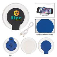 315702809-816 - Qi Certified Light Up Wireless Charging Pad - thumbnail