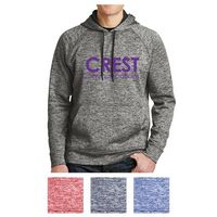 345408087-816 - Sport-Tek® PosiCharge® Electric Heather Fleece Hooded Pullover - thumbnail