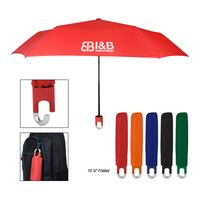 "356003140-816 - 38"" Arc Clipper Compact Telescopic Umbrella - thumbnail"