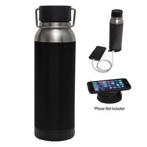356058398-816 - 22 Oz. Carter Stainless Steel Bottle With Wireless Charger And Power Bank - thumbnail