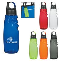 374971011-816 - 24 Oz. Crest Carabiner Sports Bottle - thumbnail