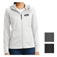 395403780-816 - Sport-Tek® Ladies' Rival Tech Fleece Full-Zip Hooded Jacket - thumbnail