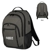 505886988-816 - Reagan Heathered Backpack - thumbnail