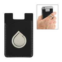 505892224-816 - Aluminum Phone Ring And Stand With Phone Wallet - thumbnail