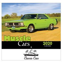 516064256-816 - 2020 Muscle Cars Wall Calendar - Stapled - thumbnail