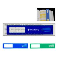 """524014223-816 - 6"""" Magnifier Ruler With Bookmark - thumbnail"""