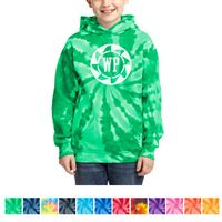 525339740-816 - Port & Company® Youth Tie-Dye Pullover Hooded Sweatshirt - thumbnail
