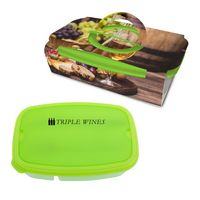535387032-816 - 2-Section Lunch Container With Custom Handle Box - thumbnail