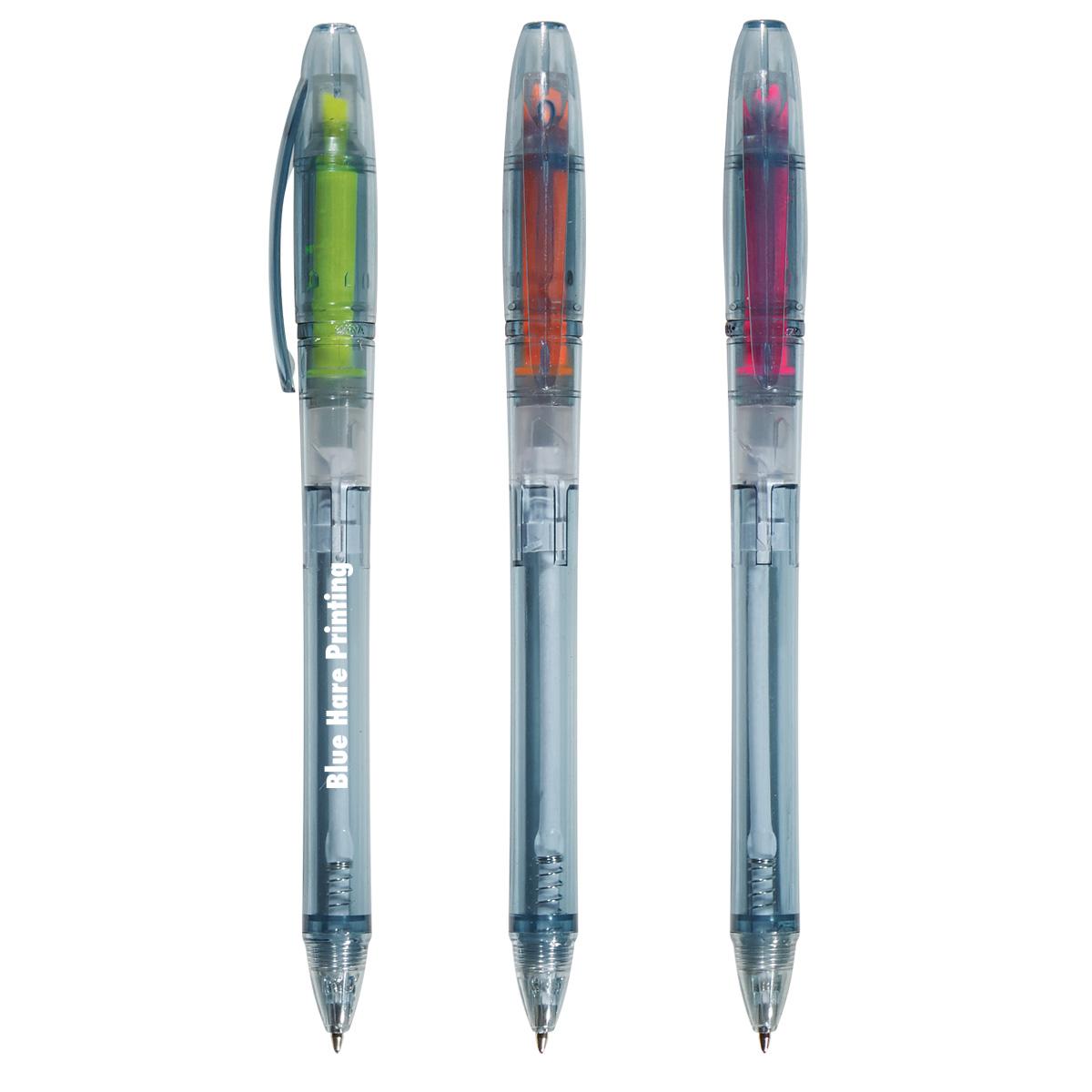545268905-816 - Oasis Bottle-Inspired Pen With Highlighter - thumbnail