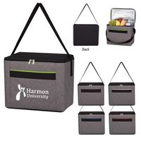 565459218-816 - Brighton Heathered Cooler Bag - thumbnail