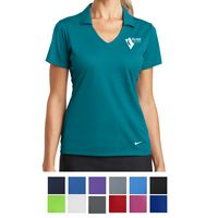 585459159-816 - Nike Ladies' Dri-FIT Vertical Mesh Polo - thumbnail