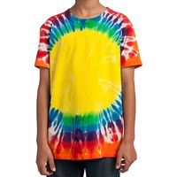 715355018-816 - Port & Company® Youth Window Tie-Dye Tee - thumbnail