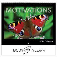 716064254-816 - 2020 Motivations Wall Calendar - Spiral - thumbnail