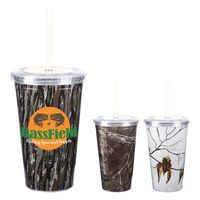 726030965-816 - 16 Oz. Realtree® Newport Acrylic Tumbler With Insert - thumbnail