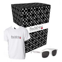 735499004-816 - Gildan® T-Shirt And Sunglasses Combo Set With Custom Box - thumbnail