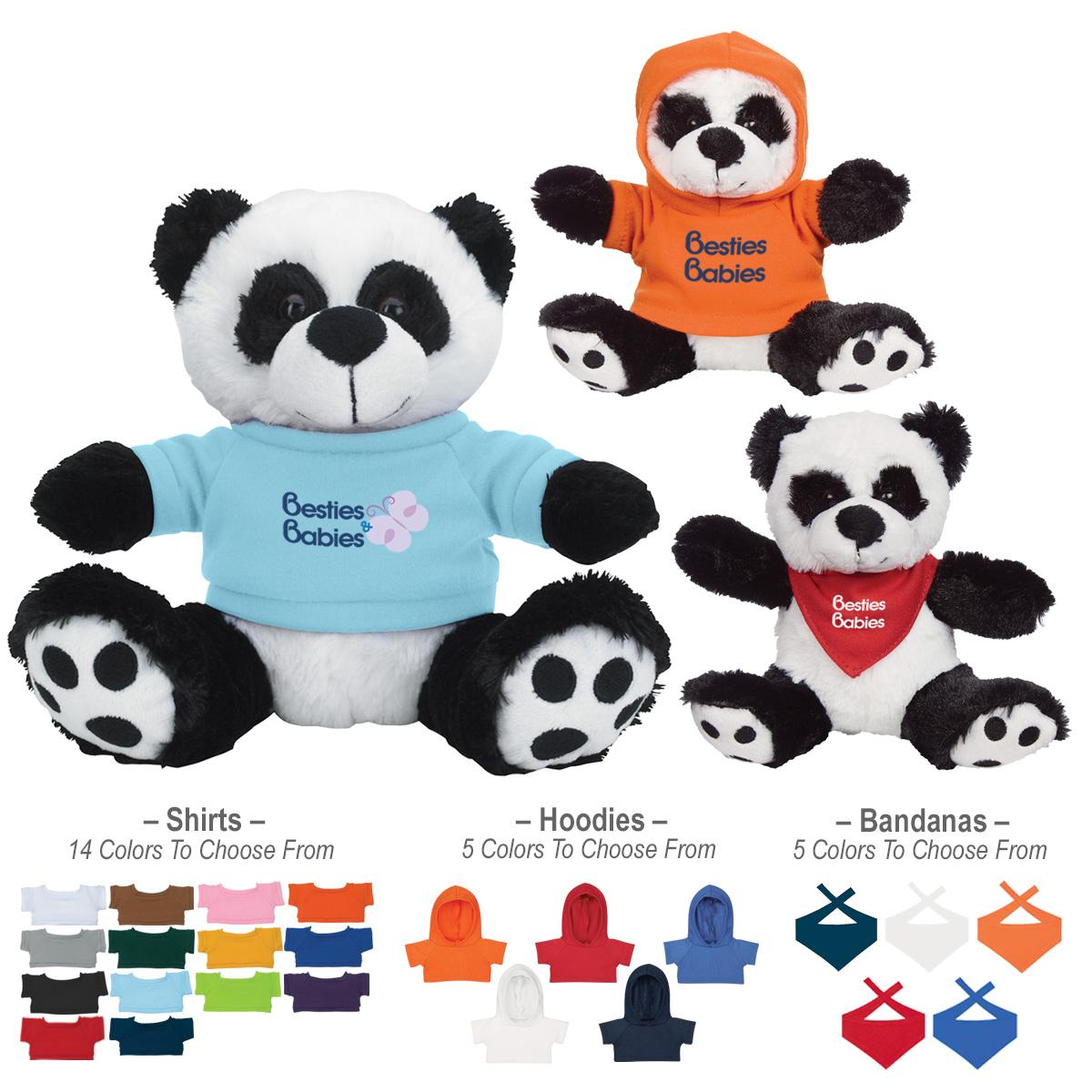 """745268908-816 - 8 1/2"""" Big Paw Panda - thumbnail"""