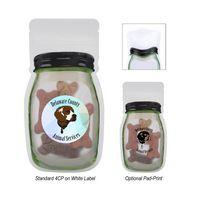 746085554-816 - 3.8 Oz. Reusable Storage Bag With Dog Bones - thumbnail