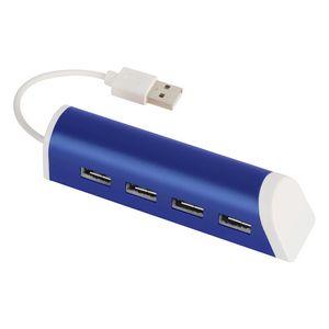 755200152-816 - 4-Port Aluminum USB Hub With Phone Stand - thumbnail