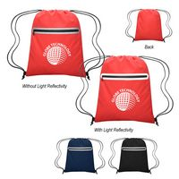 766063219-816 - Farsight Reflective Drawstring Sports Pack - thumbnail