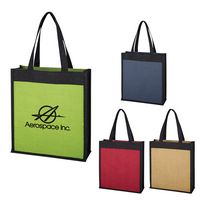 775257528-816 - Laminated Jute Tote Bag - thumbnail