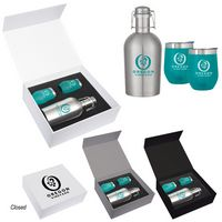 776064274-816 - Stemless Wine and Growler Gift Set - thumbnail