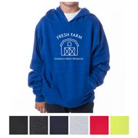 785390752-816 - Independent Trading Company Youth Midweight Pullover Hooded Sweatshirt - thumbnail